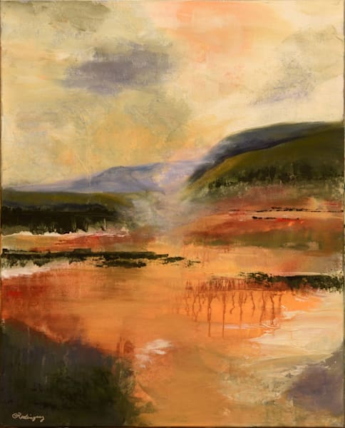 Misty Morning   Location: The Artery, Davis, Ca Art | Connie Rodriguez Fine Art