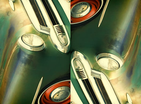 double vision,  abstract, auto duo