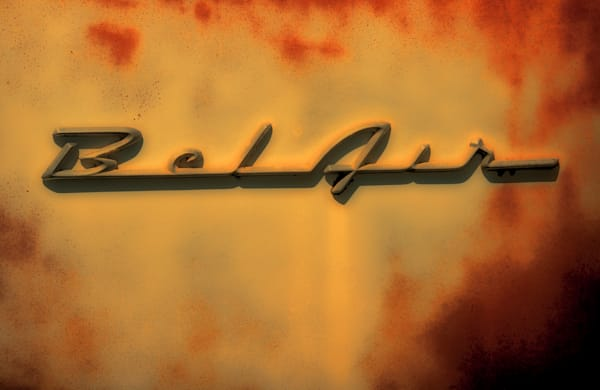 Sunset in Bel Air sign