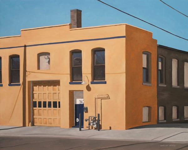 Garage | Original Oil Painting | Milwaukee WI