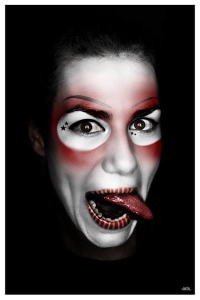 Clown #7 Photography Art | varialstudio