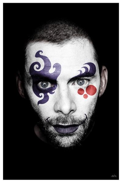 Clown #5 Photography Art | varialstudio