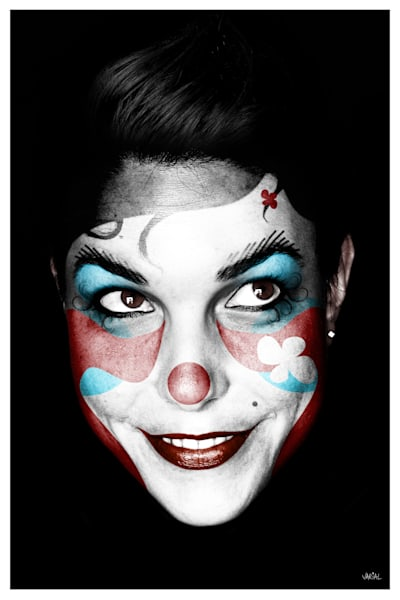 Clown #4 Photography Art | varialstudio