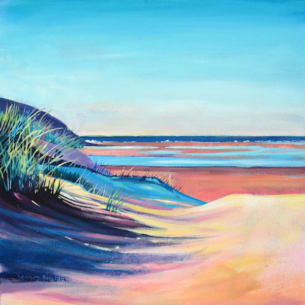 Gower Beach Original Painting