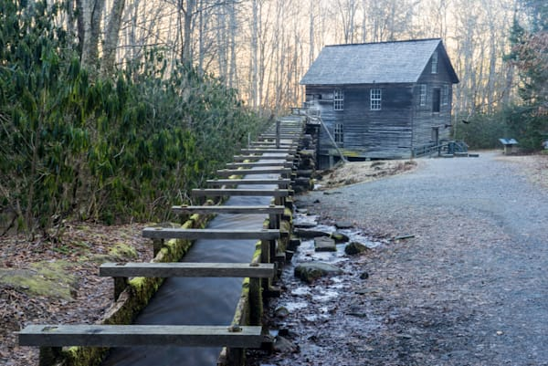 Mingus Mill In The Smoky Mountains Art | Drew Campbell Photography