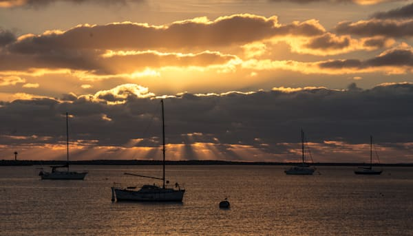 Harbor Sunset Photography Art | Drew Campbell Photography