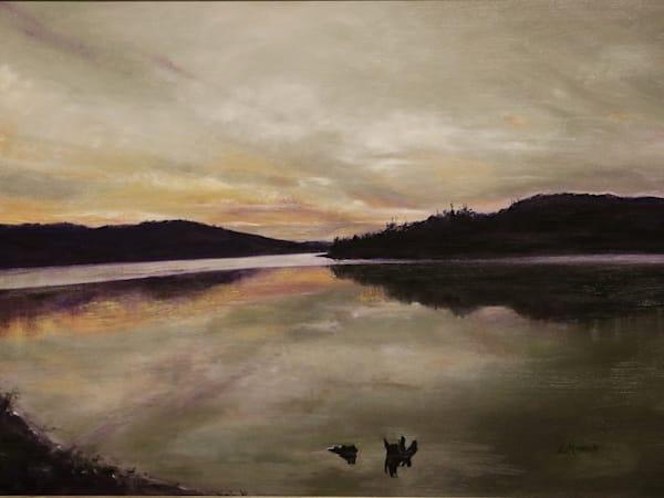 Sunset at Sherwood Lake