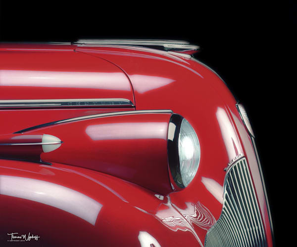 Christmas gift idea by Thomas Wyckoff - '39 Buick In Red, 1986