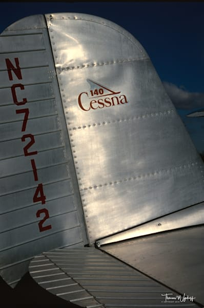 Aviation photography by Thomas Wyckoff - Cessna in the Sun