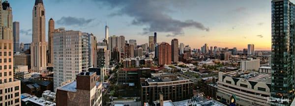 Thomas Wyckoff's Chicago Sunset, 2014
