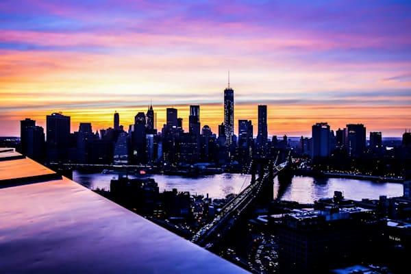 NY Downtown Skyline IV