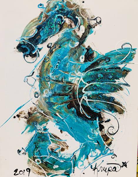 Seahorse Bada** Bad Boy Art | STACIE KRUPA FINE ART - THE COLLECTION