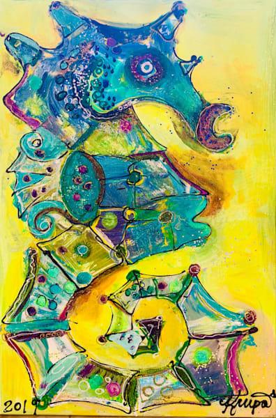 Seahorse Seductive Vixen Art | STACIE KRUPA FINE ART - THE COLLECTION
