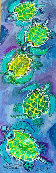 Sea Turtle 5 Star Hotel Art | STACIE KRUPA FINE ART - THE COLLECTION