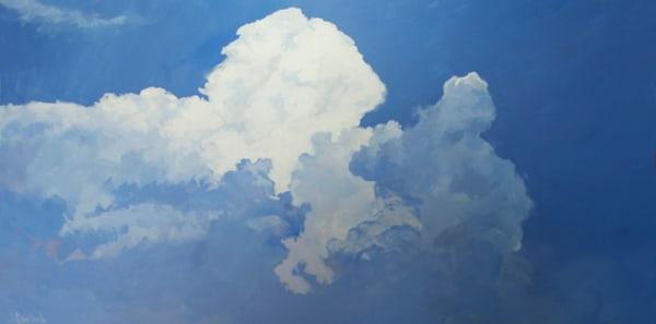"""Blue Clouds""  Art | C.A.S.H. Art ""all things artistic"""