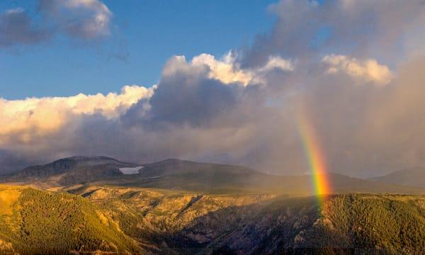 Bear Tooth Rainbow Photography Art   Craig Primas Photography