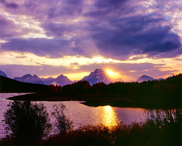 Mount Moran Starburst Photography Art | Craig Primas Photography