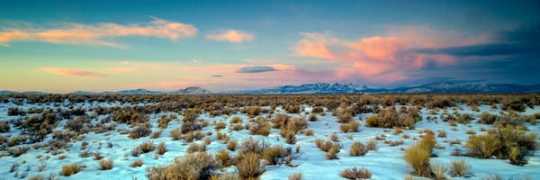 White River Valley Winter Morning Photography Art | Craig Primas Photography