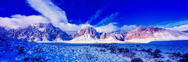 Spring Mountains Snow Photography Art | Craig Primas Photography