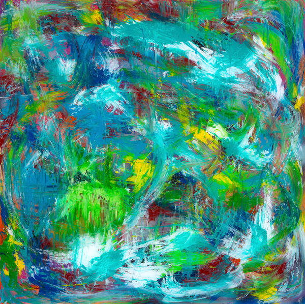 Moon Garden | Abstract Art | JD Shultz Art