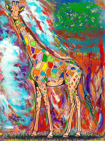 A Higher Power | Girafe Art | JD Shultz Art