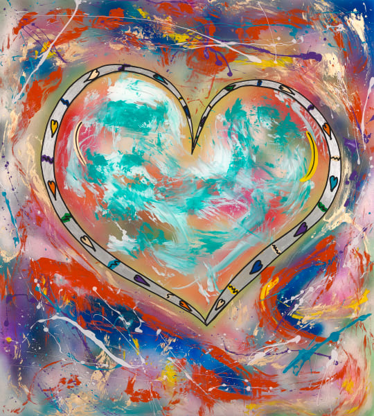 Love Reigns | Heart Art | JD Shultz Art