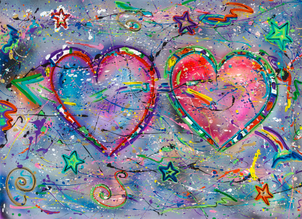 Love Wins | Heart Art | JD Shultz Art