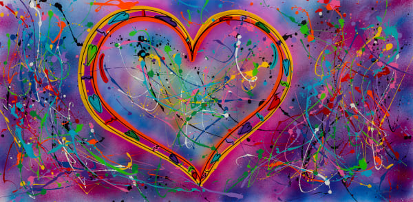 The Heart | Heart Art | JD Shultz Art