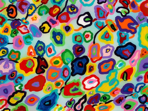 """Cheetah Rainbow"" | Animal Art | JD Shultz Art"