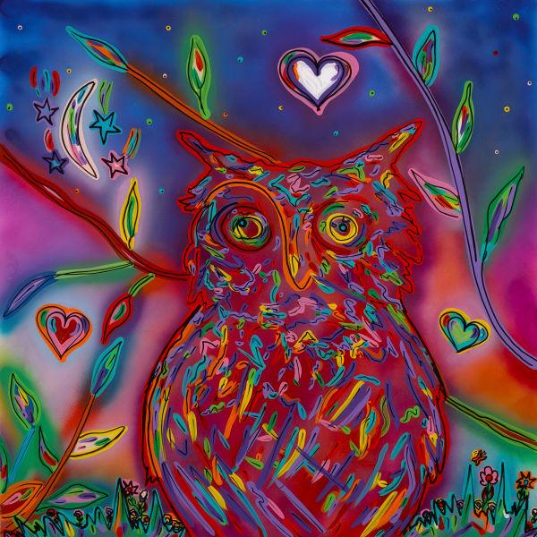The Owl | Animal Art | JD Shultz Art