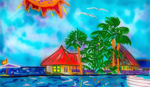Getaway Island | Beach Art | JD Shultz Art