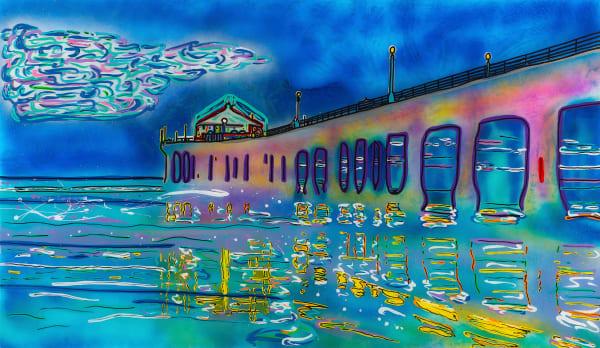 The Pier | Beach Art | JD Shultz Art