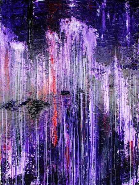 Purple Rain Art | Jerry Hardesty Studio