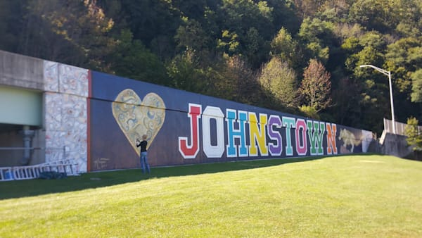 UNIVERSITY OF PITTSBURGH- JOHNSTOWN MURAL