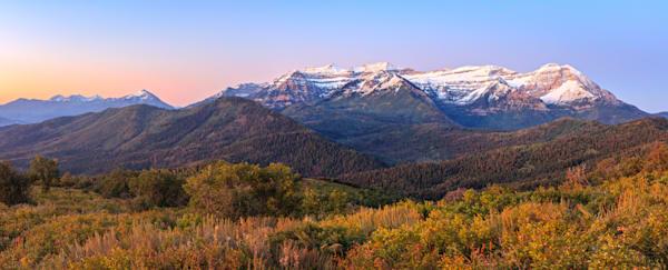 first snow panorama