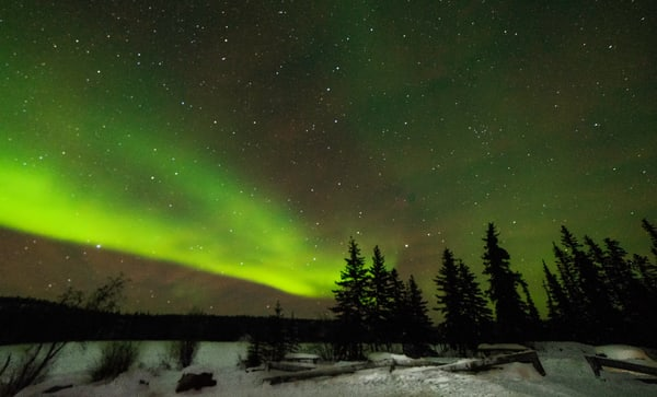 Aurora Borealis Yellowknife, Canada Art | Drew Campbell Photography