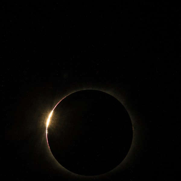 Near Totality Solar Eclipse Aug 2017 Art | Drew Campbell Photography