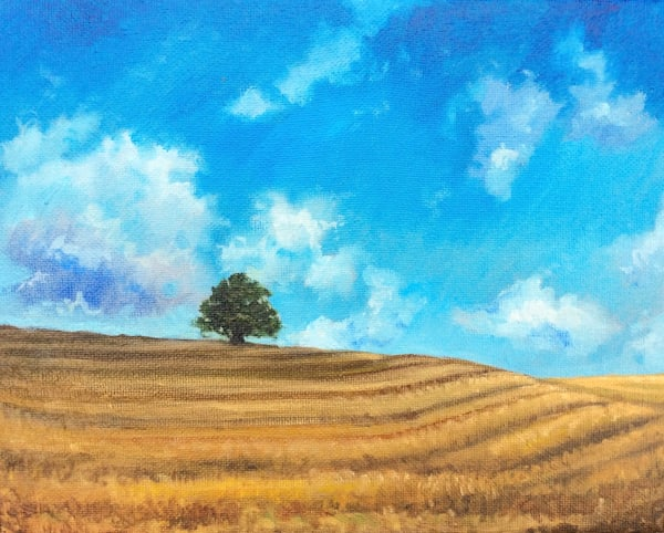Open Expanses Original Landscape Art by Hilary J. England