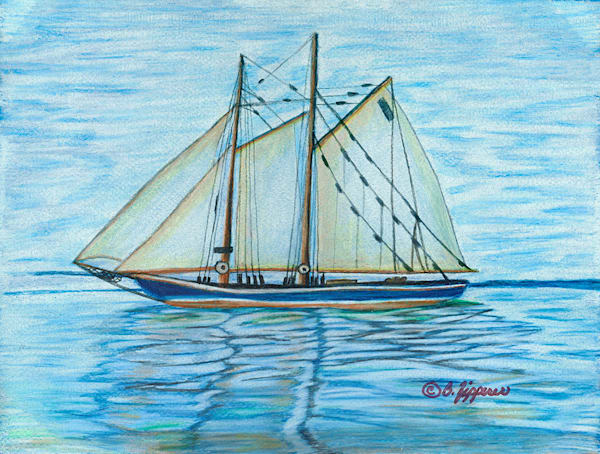"""Island Seas"" fine art print by Barbara Zipperer."
