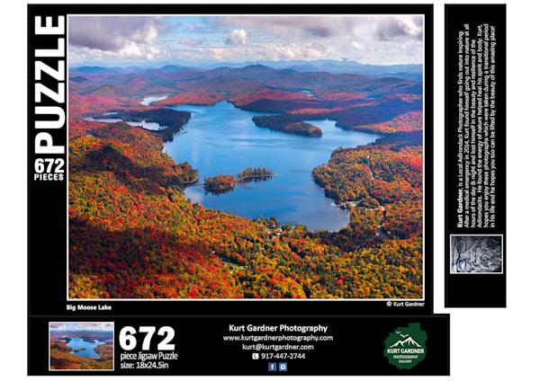 Pre Order Big Moose Lake Puzzl | Kurt Gardner Photogarphy