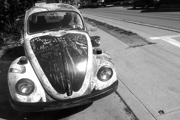 Hippie Volkswagen Beetle Photography Art | Peter Welch