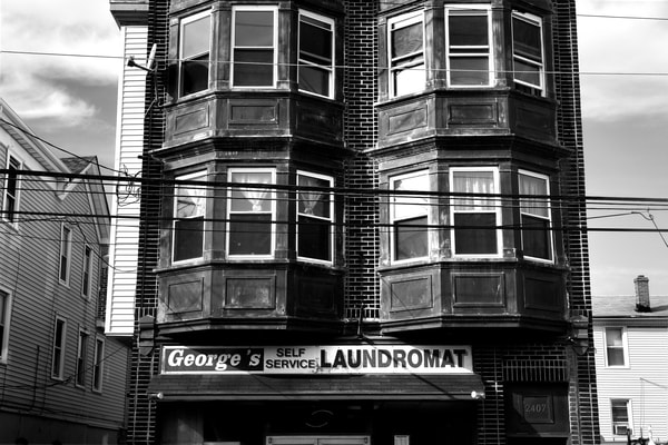 George's Self Serve Laundromat  Photography Art | Peter Welch