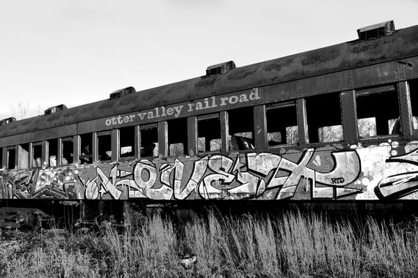 Otter Valley Railroad Photography Art | Peter Welch