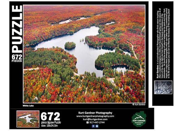 In Stock White Lake Puzzle | Kurt Gardner Photogarphy