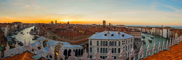 Venice Rooftop Vista Photography Art | Craig Primas Photography