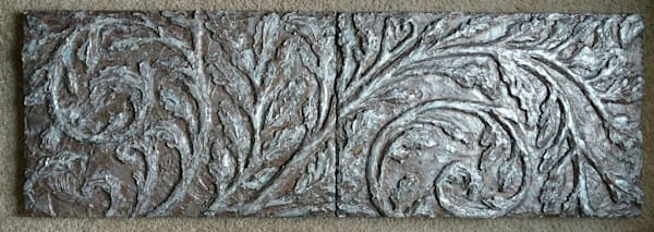 """Study In Motion""  Bas Relief Art 