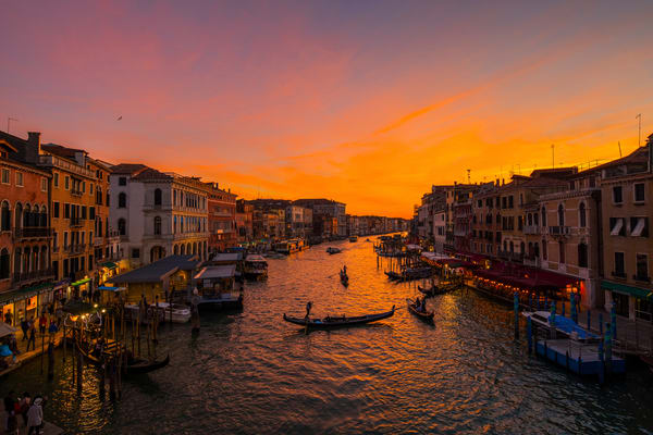 Grand Canal Sunset Photography Art | Craig Primas Photography