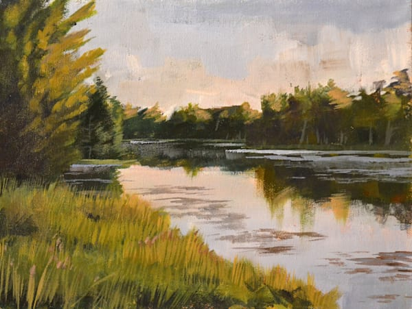 """Early Morning On The Water"" Art 