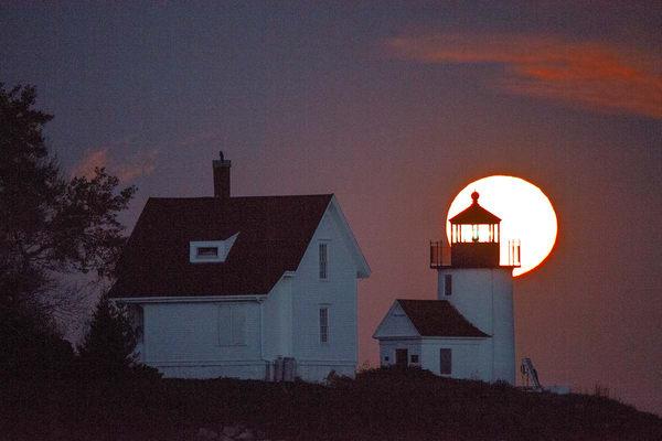Curtis Island Moon Light Photography Art | Craig Primas Photography
