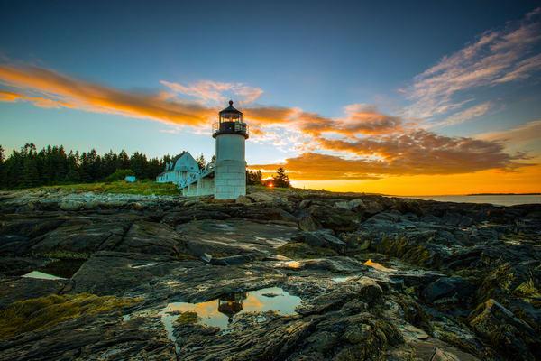 Marshall Point Lighthouse Photography Art | Craig Primas Photography
